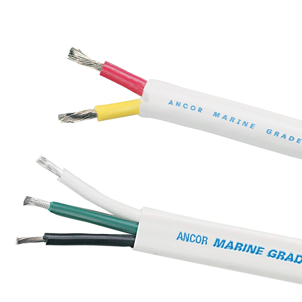 Ancor Marine Grade Tinned Copper Duplex/Triplex Round Cable