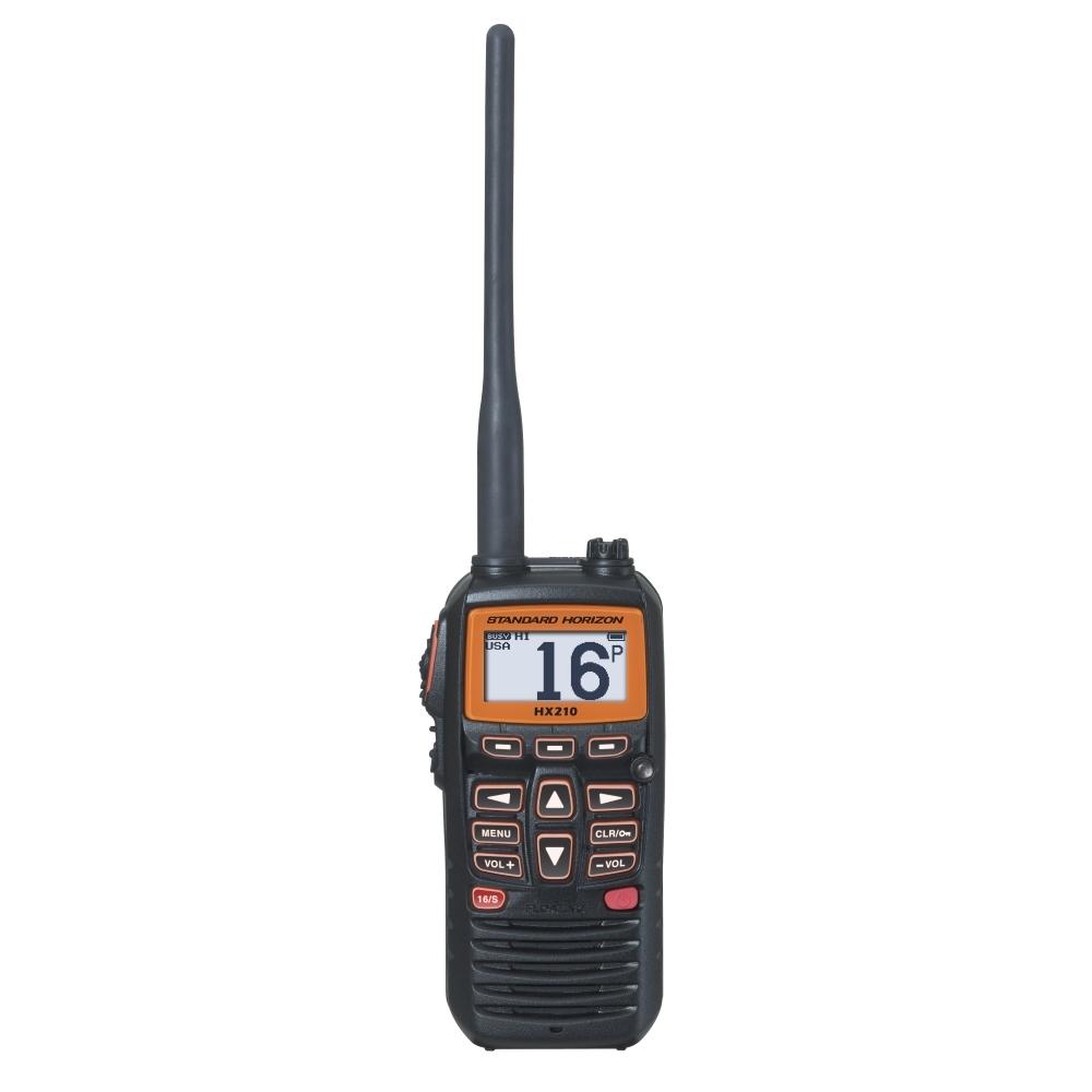Standard Horizon HX210 Compact Floating 6W Handheld VHF Radio