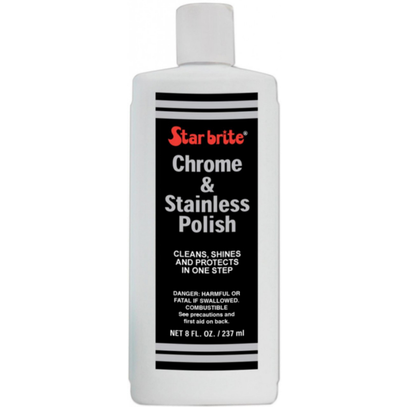 Star Brite Chrome and Stainless Steel Cleaner Polish