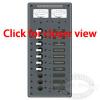 Blue Sea Systems AC Main 8 Position Circuit Breaker Panel