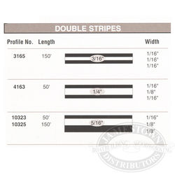 Cal-Stripes Double Stripe/One Color 5/16 X 50