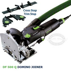 Festool Domino Joiner DF 500 Q Set with Cross and Trim Stops