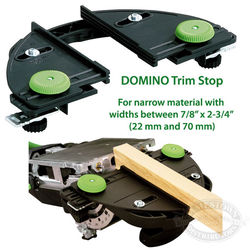 Festool Domino Trim Stop and Handrail Fence