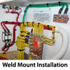 Weld Mount Installation