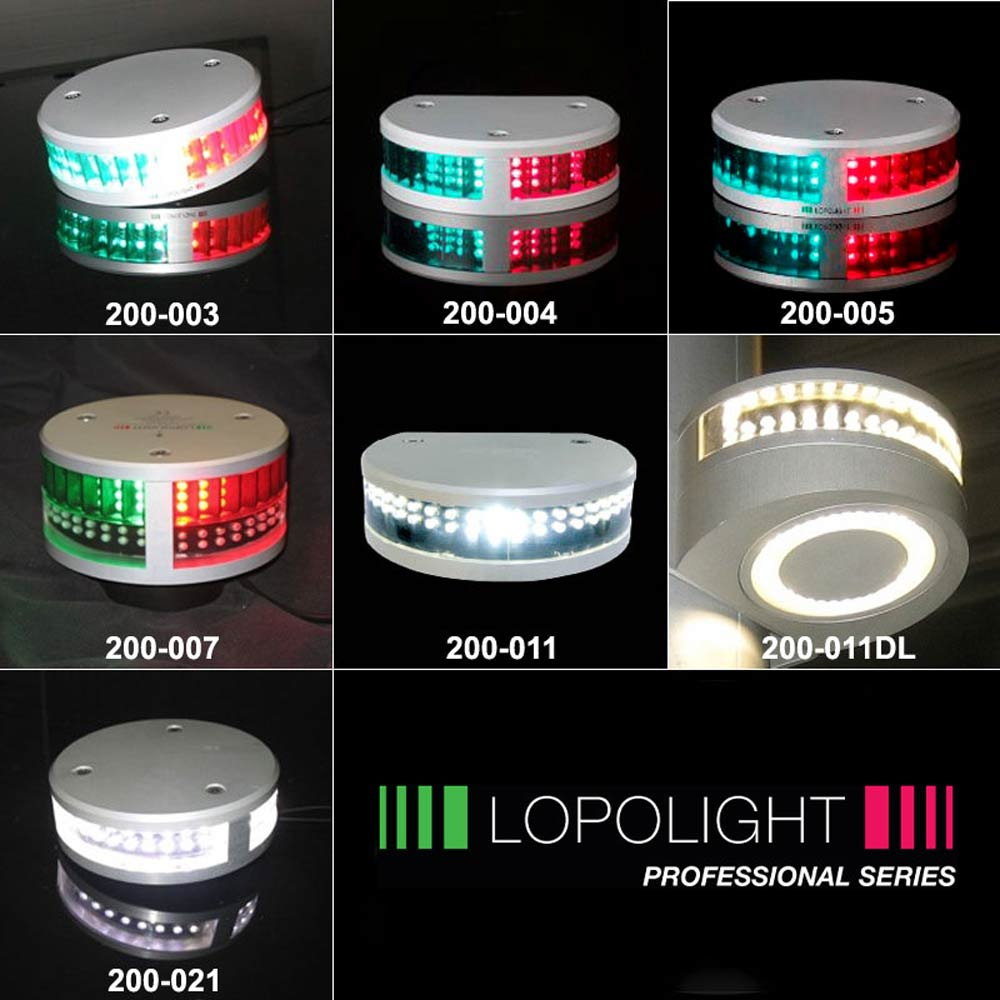 LopoLight LED Navigation Lights for boats up to 65.6 ft (20m)
