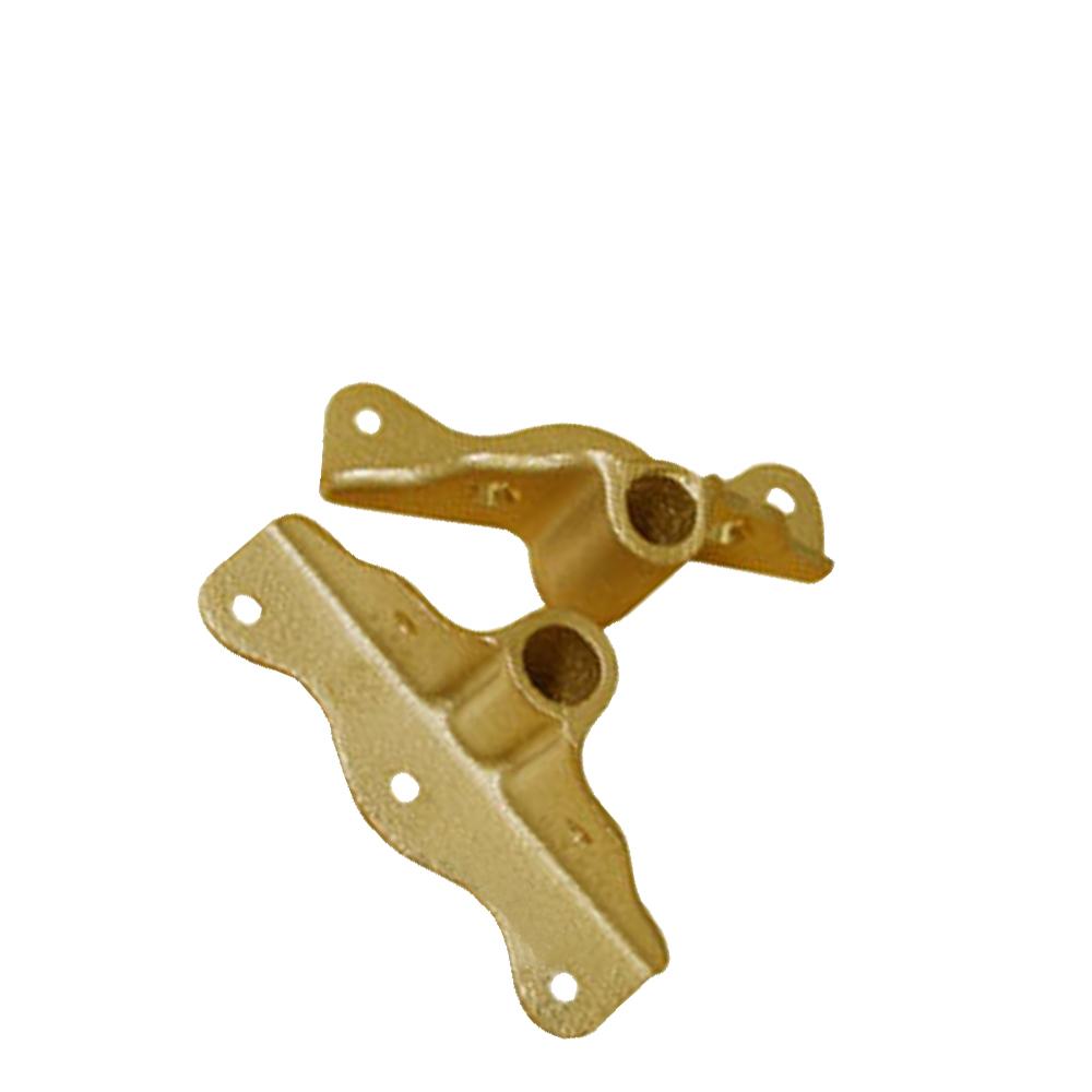 Buck Algonquin Bronze Angle Plate Oarlock Socket