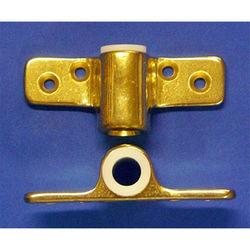 Brass Side Mount Oarlock Sockets