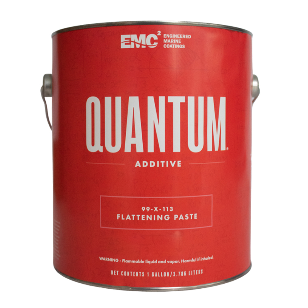 Flattening agent for Quantum 99 topside paint gallon