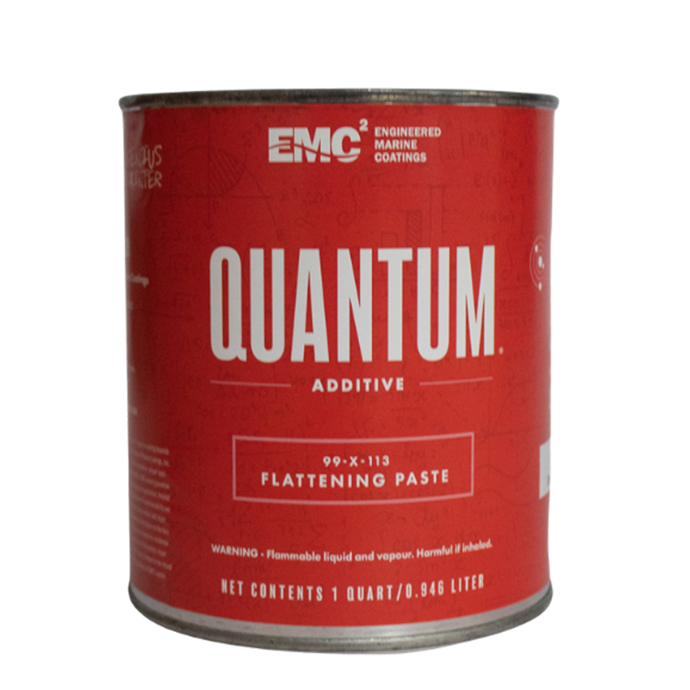Flattening agent for Quantum 99 topside paint quart