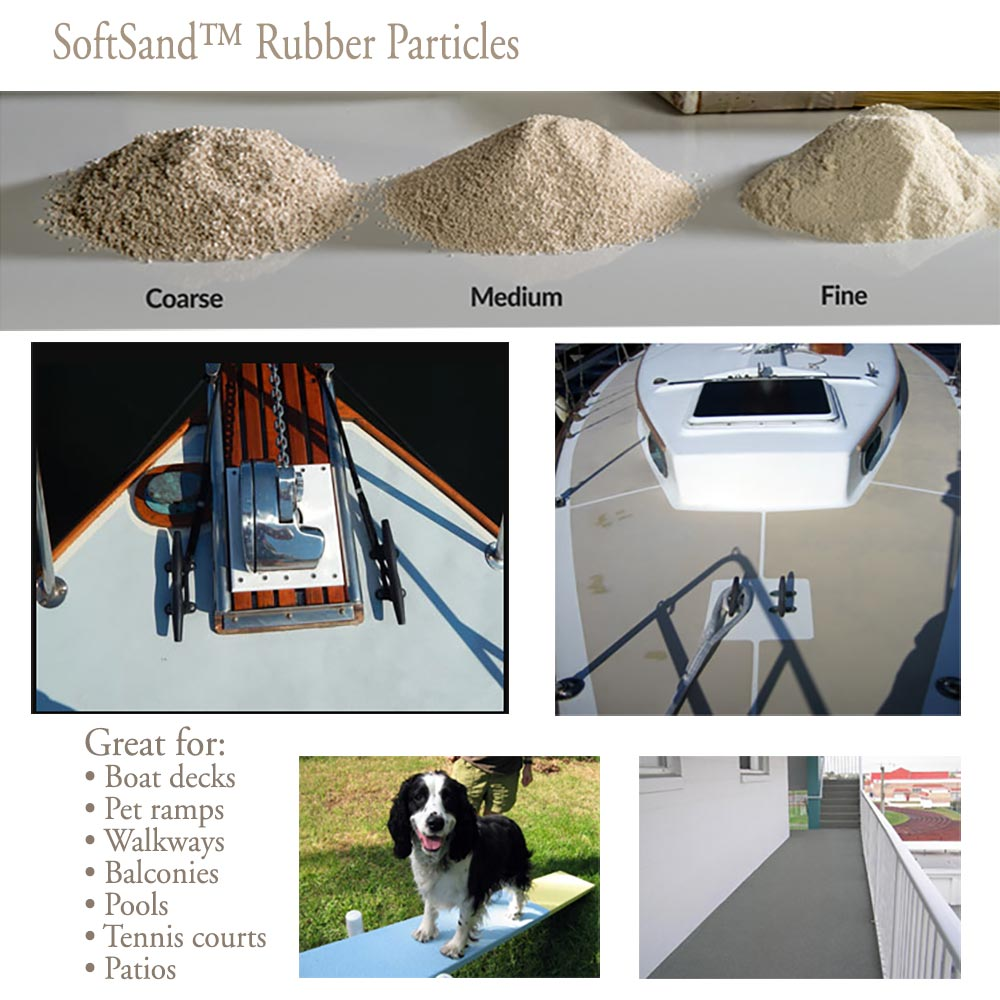 Rubber Non-Skid grades and uses