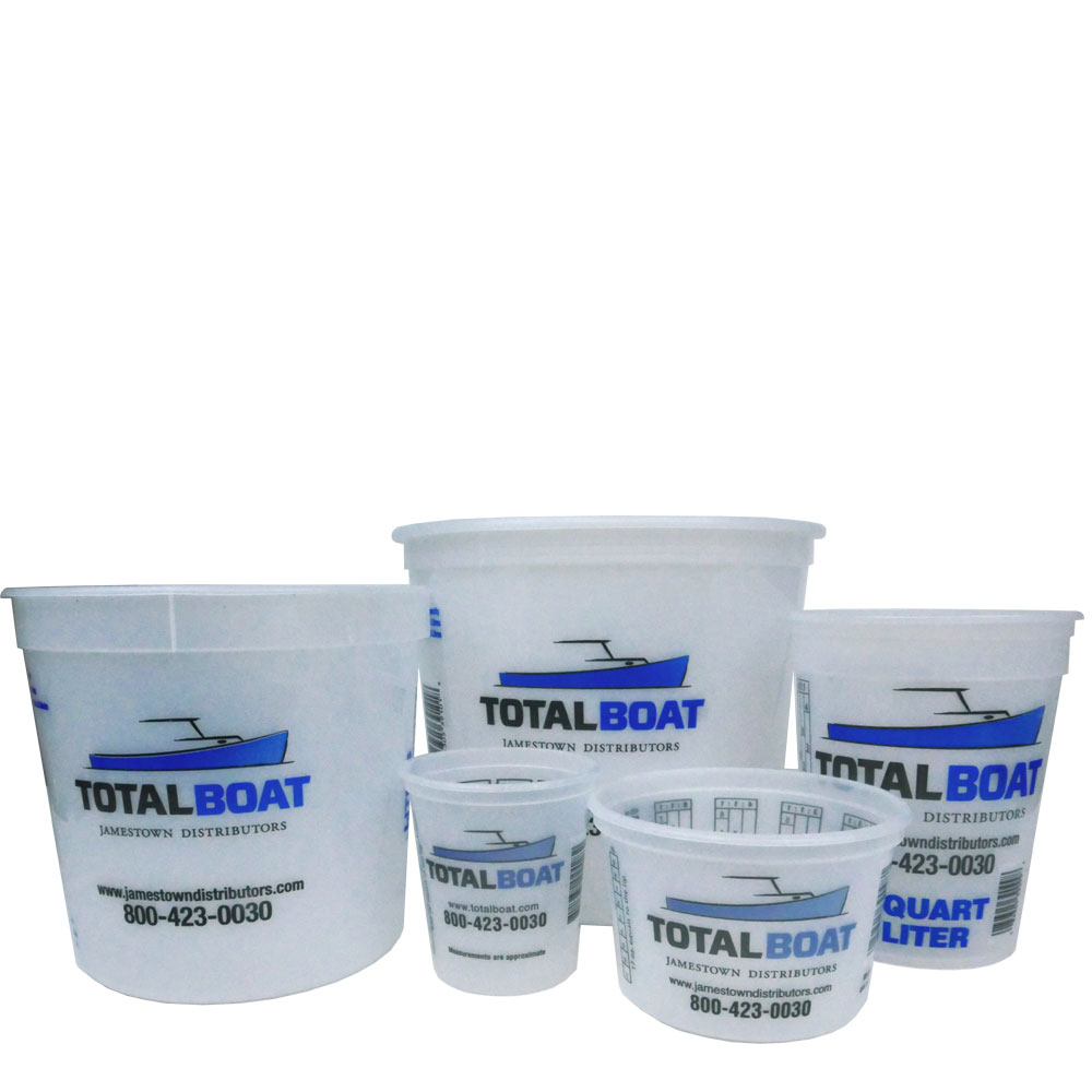 West System 900ml Mixing Pots Pack of 3 or 5 Pots