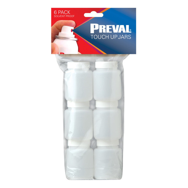 6 Pack of 2.94oz Touch-up Jars (Solvent Proof)
