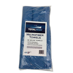 TotalBoat Microfiber Cleaning and Polishing Towels 10-Pack