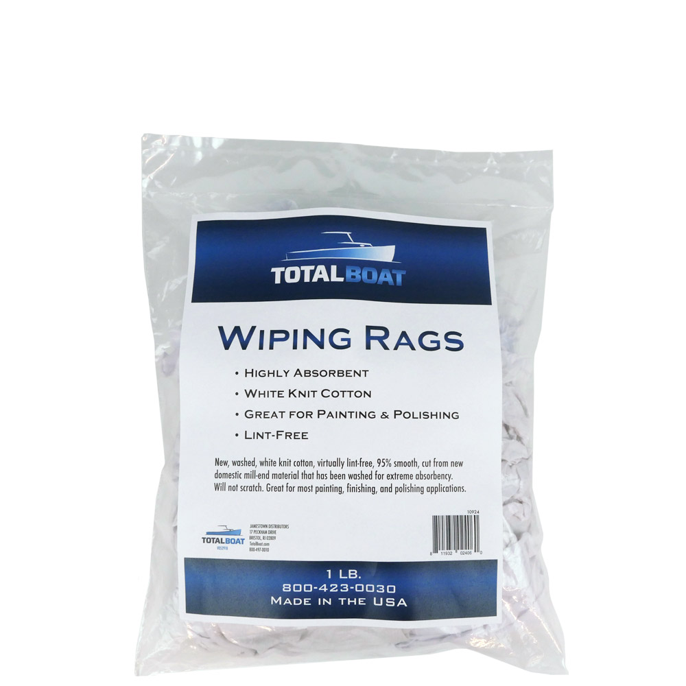 TotalBoat Wiping Rags 1 lb. Bag