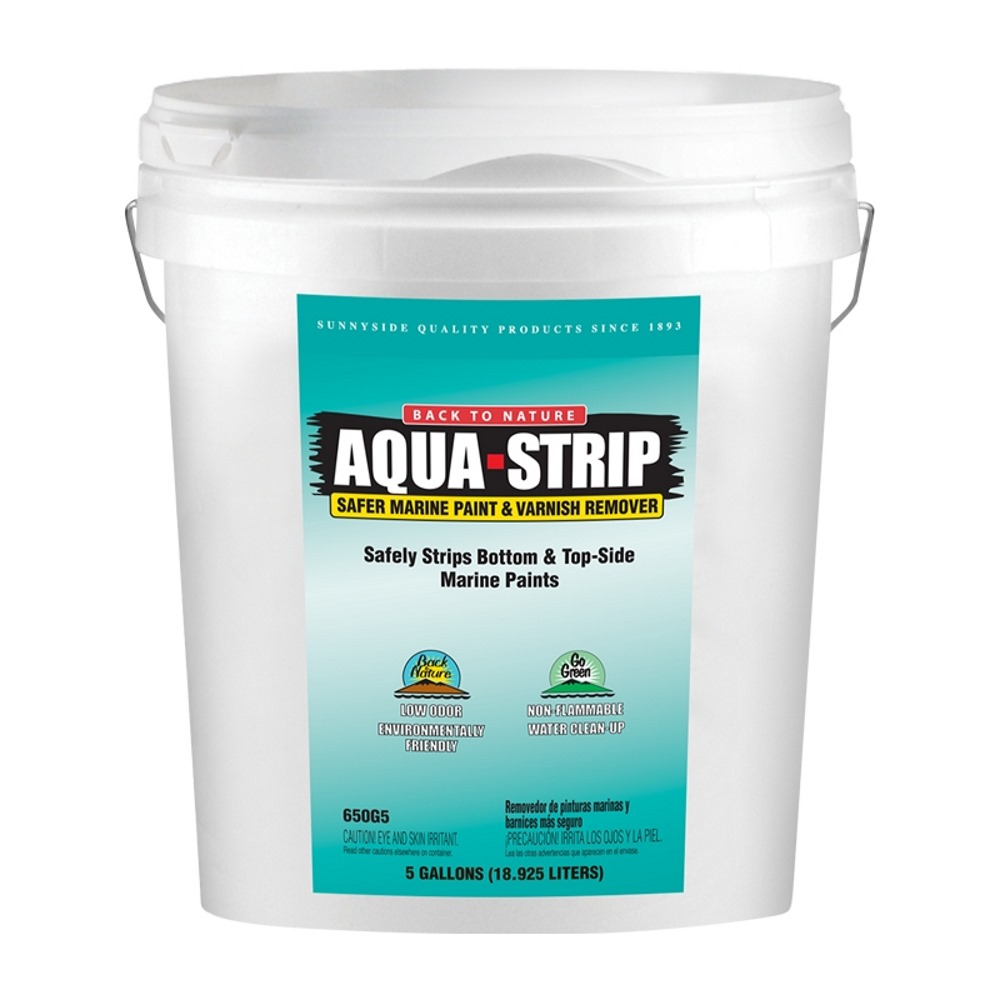 Back To Nature Aqua Strip paint and varnish stripper or remover, 5-Gallon