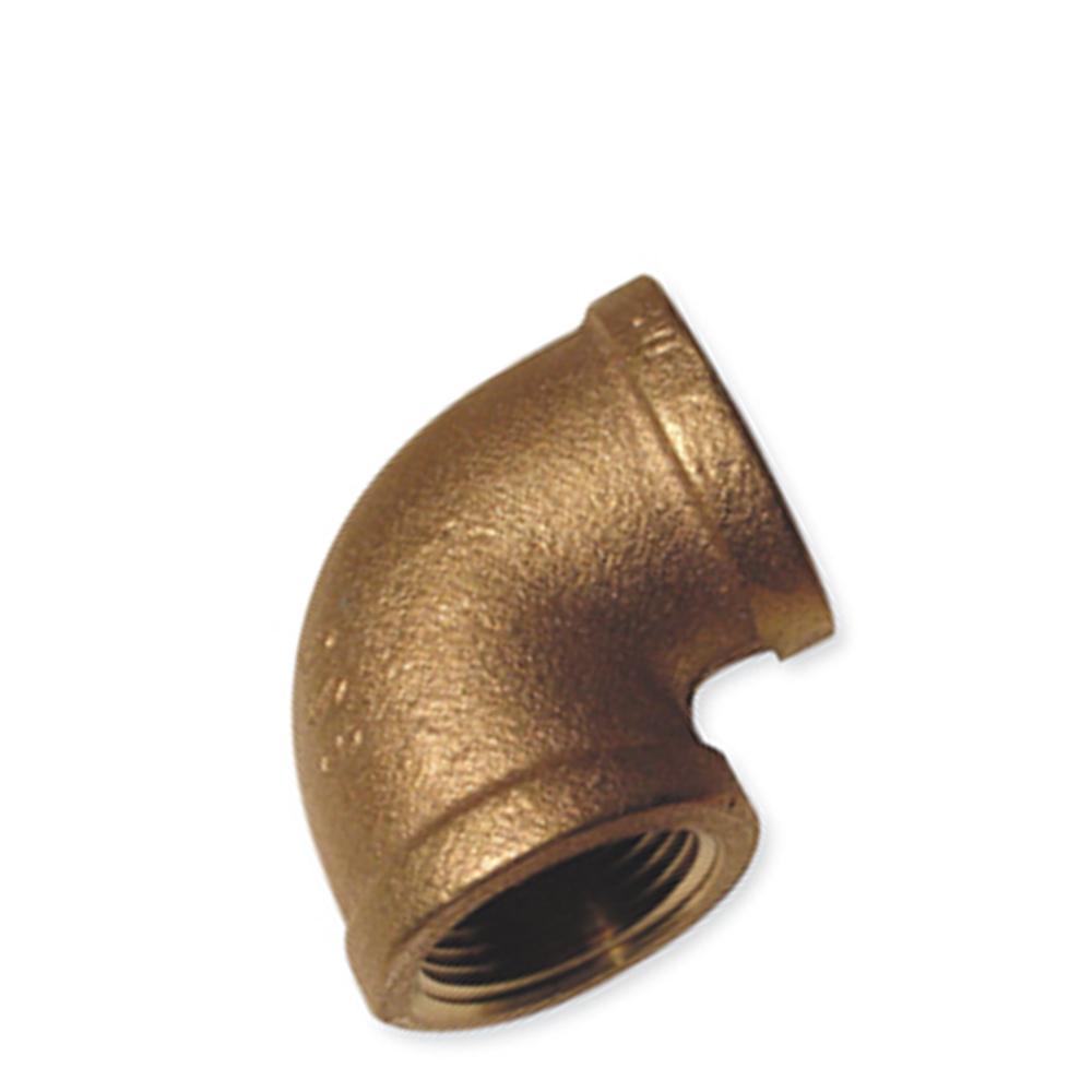 90 Degree Elbow Fittings - Bronze, NPT