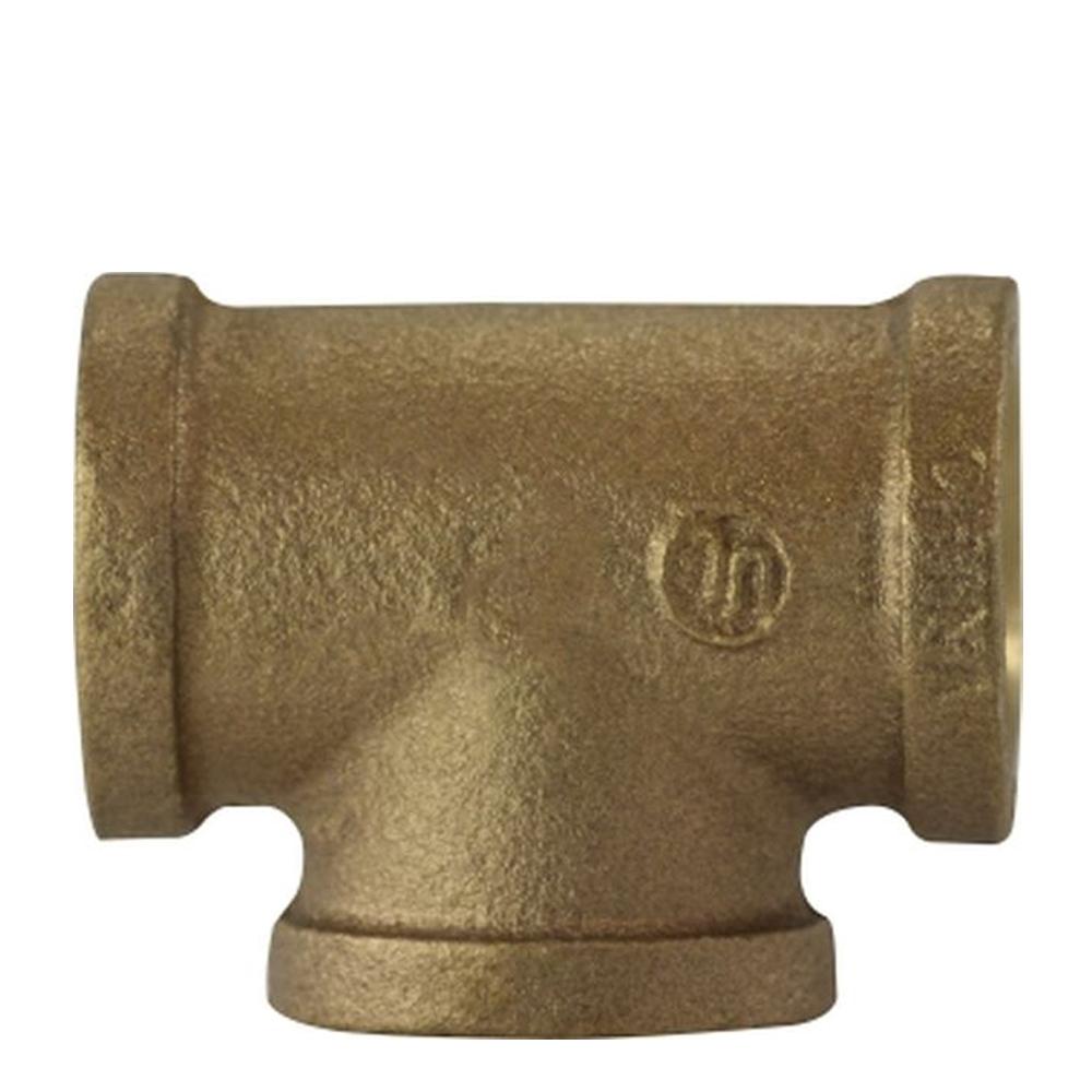Tee Fittings - Bronze, NPT