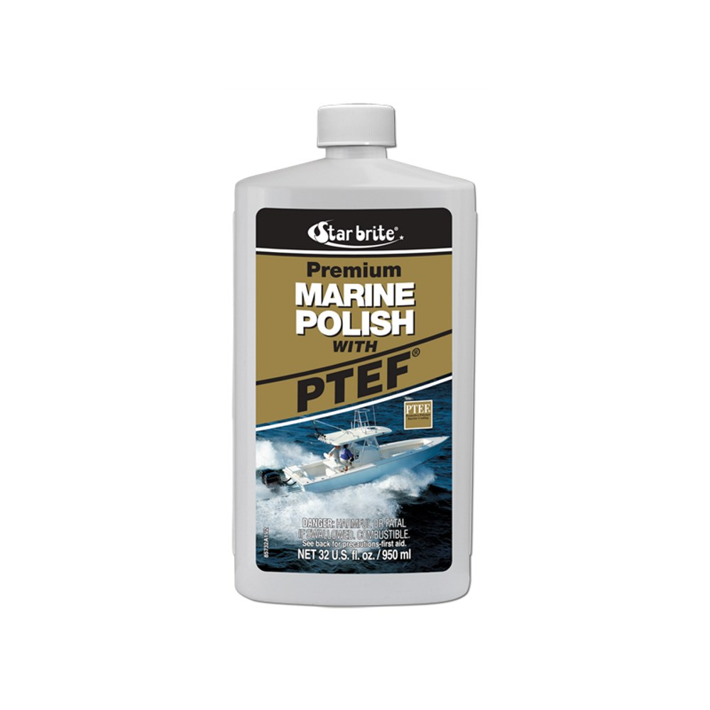 Star Brite Marine Polish with PTEF Liquid 32 oz.