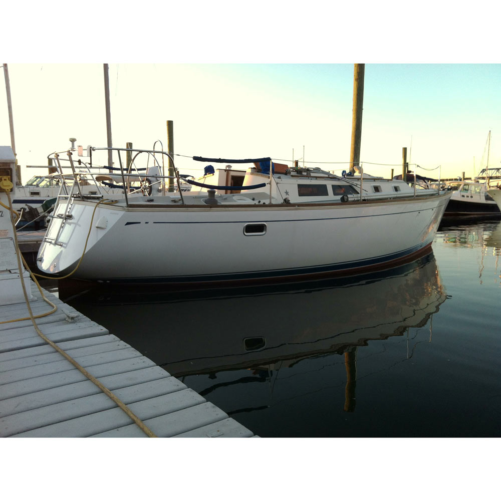 TotalBoat White Gelcoat with Wax Result
