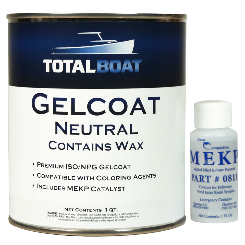 TotalBoat Neutral Gelcoat with Wax Quart