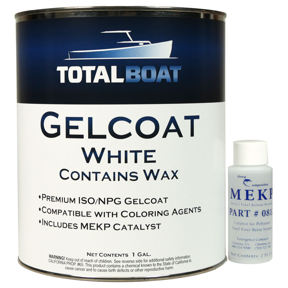 TotalBoat White and Neutral Gelcoats
