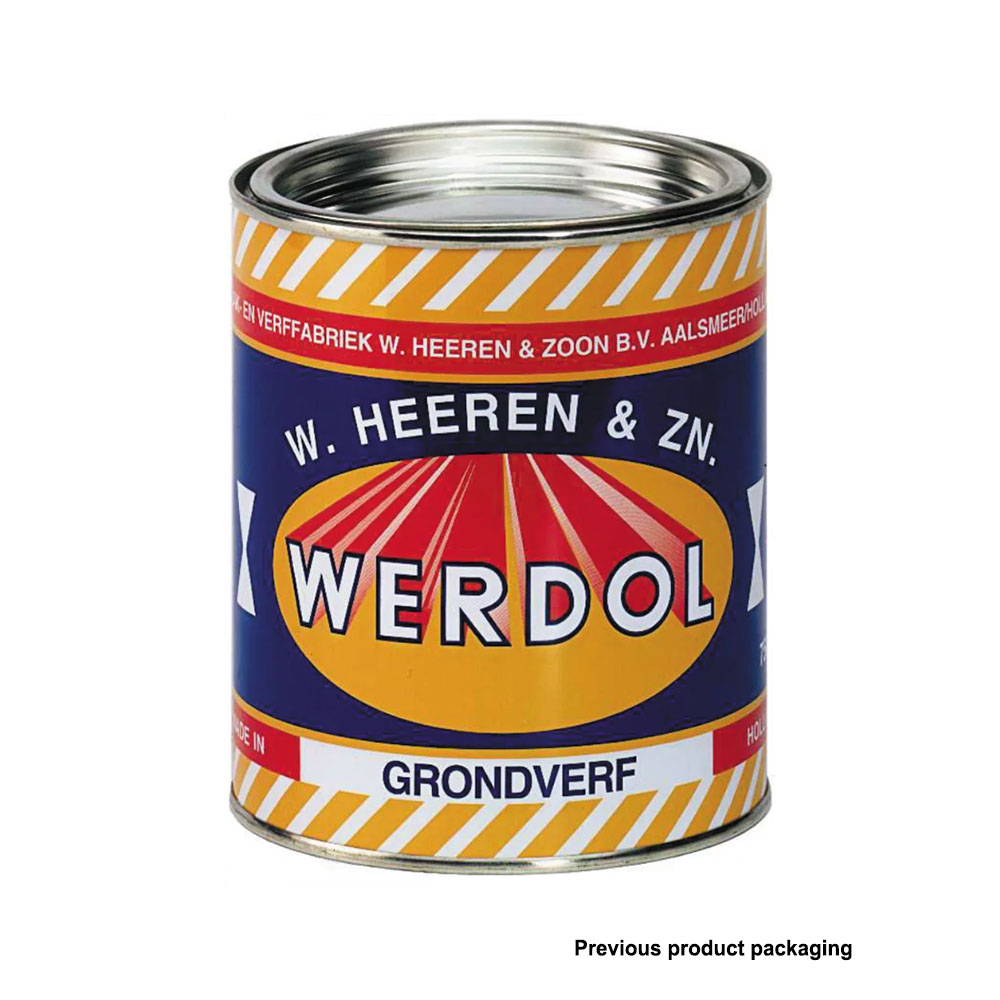 epifanes werdol primer, one-part wood prep paint previous packaging