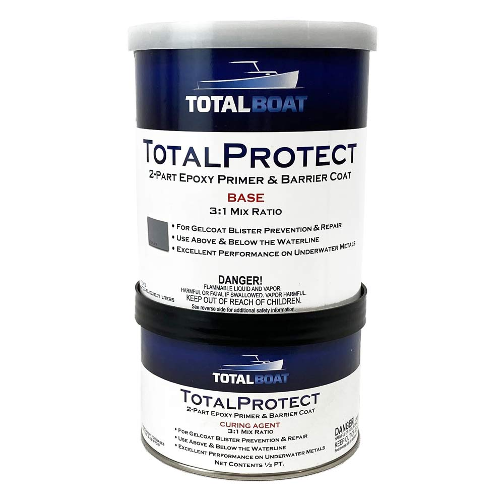 TotalBoat TotalProtect Marine Epoxy Primer Quart Kit