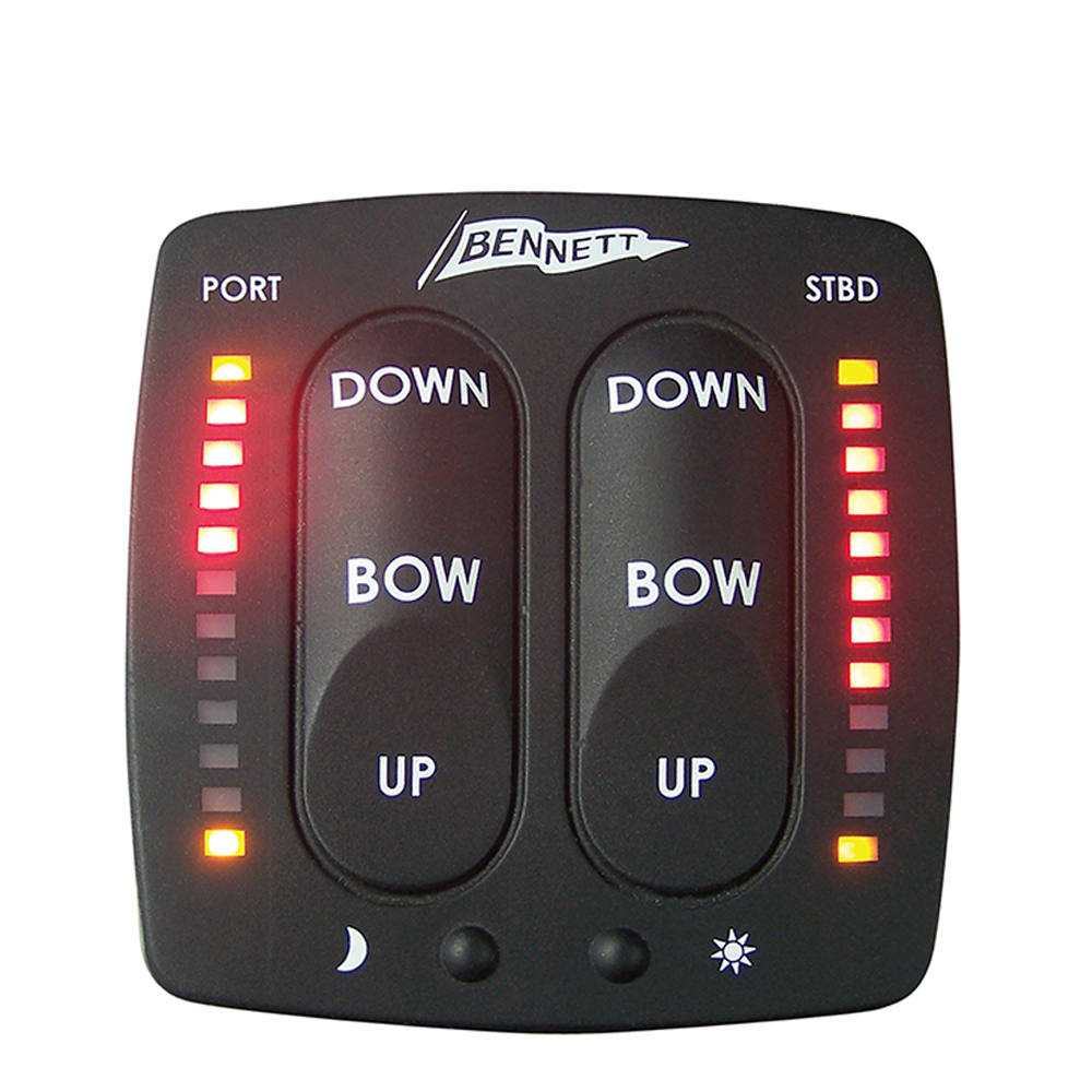 Bennett Electronic Indicator Control for Trim Tabs