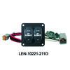Lenco Double Rocker Trim Tab Switch Kits