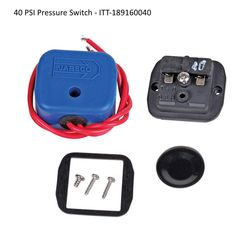 Replacement pressure switches for ITT Jabsco water pumps - 40 PSI