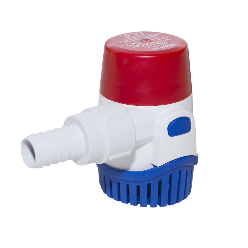Rule 25DA 500 gph submersible round bilge pump