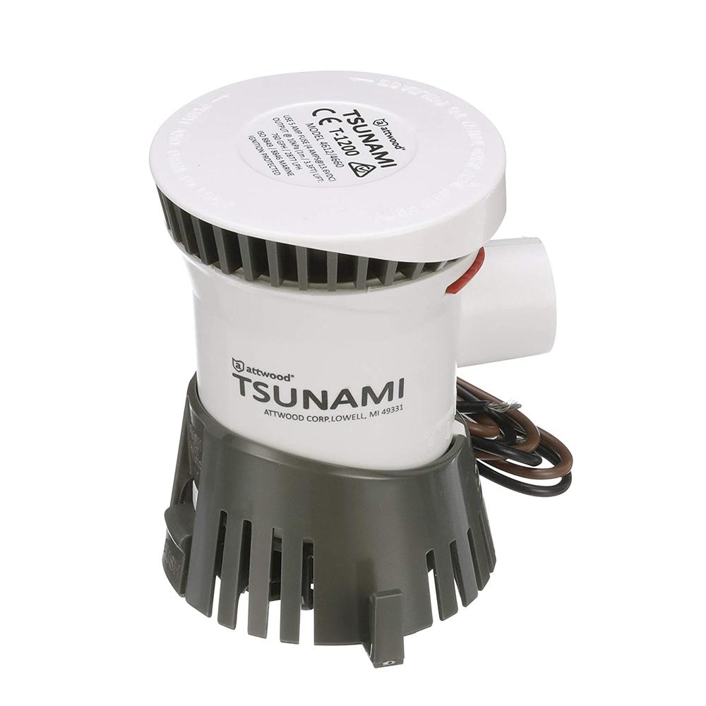 Attwood Tsunami Cartridge Bilge and Aerator Pumps