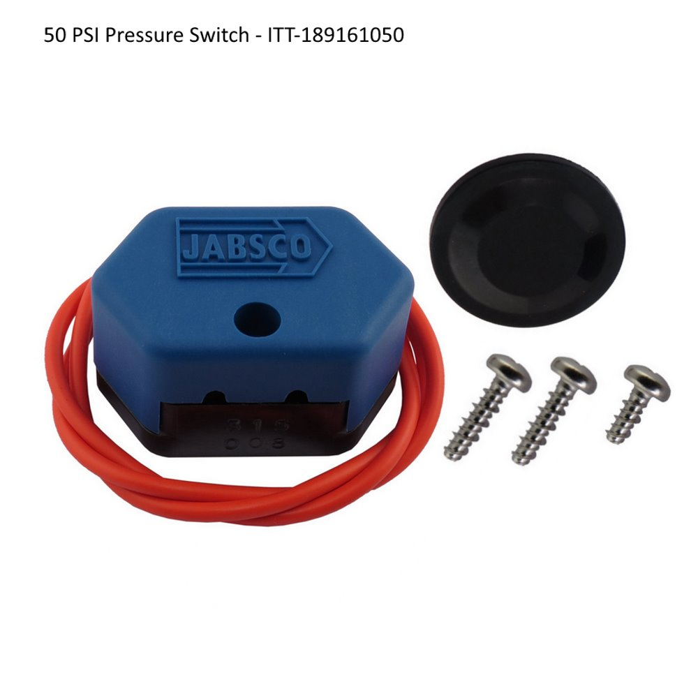 Replacement pressure switches for ITT Jabsco water pumps - 50 PSI