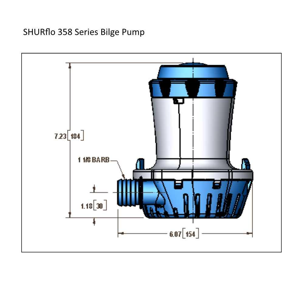 Shurflo 358 series bilge pumps pooptronica