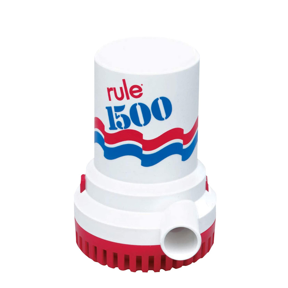 Rule 1500 GPH Submersible Bilge Pumps 1500 GPH