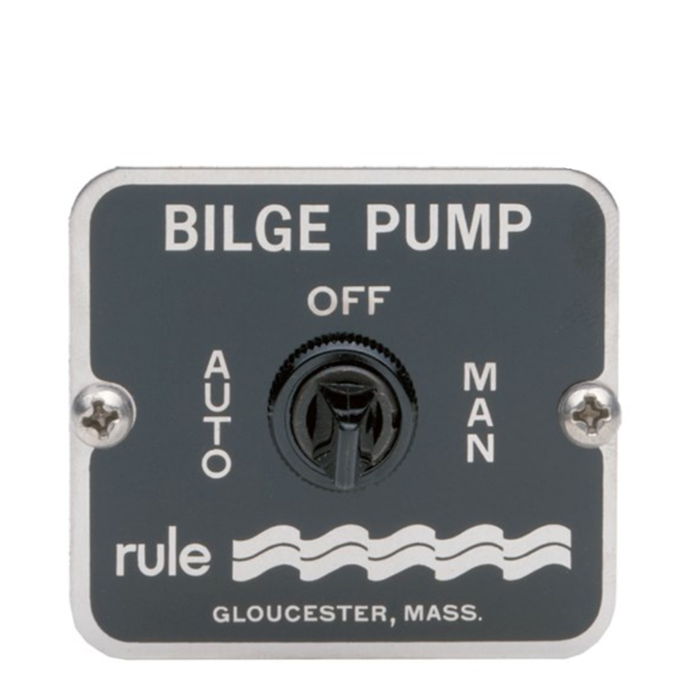 Rule 3-Way Panel Bilge Pump Switch