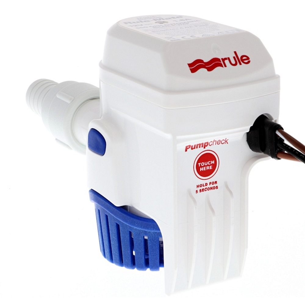 Rule-Mate Automatic Bilge Pumps pump check