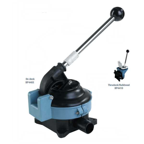 Whale Gusher Titan Manual Bilge Pumps
