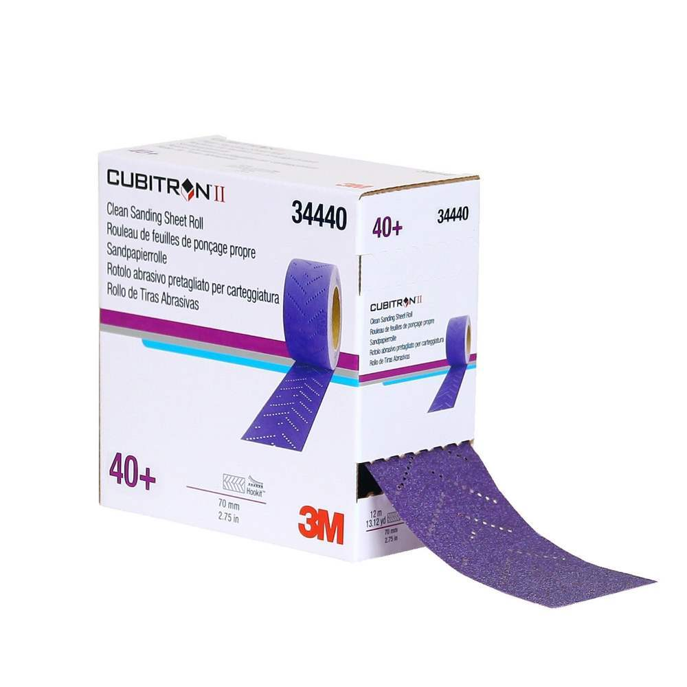 3M Cubitron II Clean Sanding Sheets and Rolls