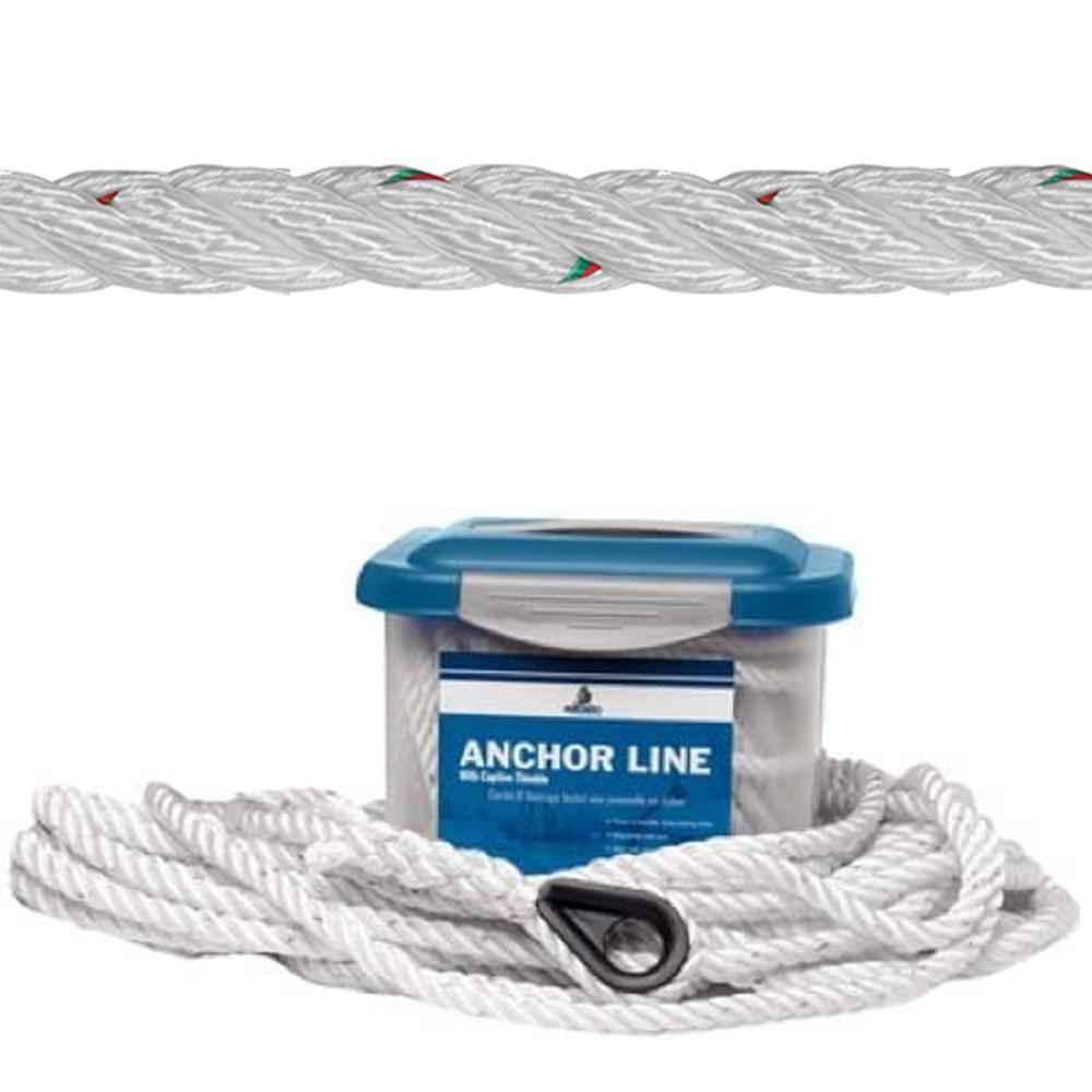 Samson Pro-Set Premium 3-Strand Nylon Anchor Line