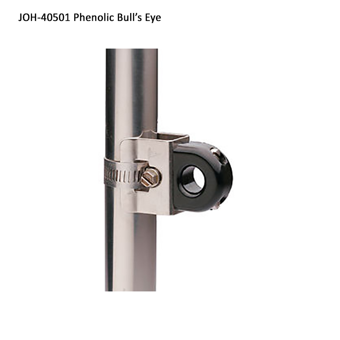 CS Johnson Roller Furling Fairlead - Phenolic Bulls Eye Fairlead