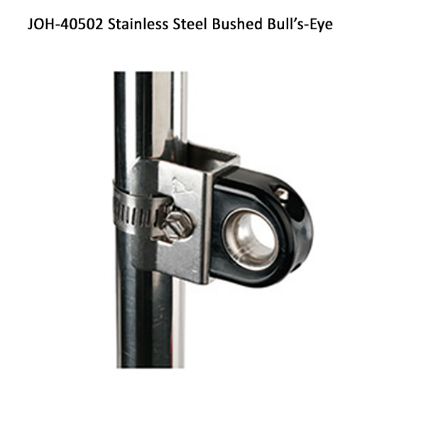 CS Johnson Roller Furling Fairlead - Stainless Steel Bushed Bull's Eye Fairlead