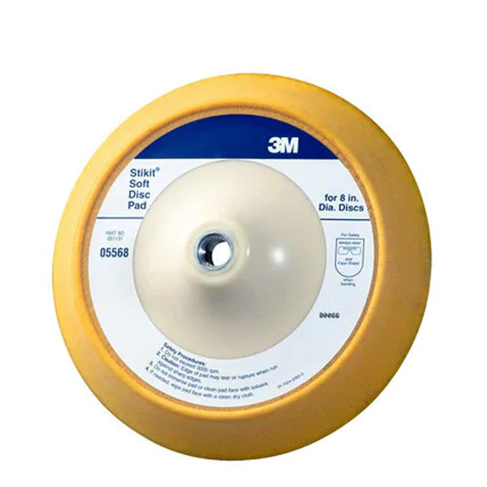 3M Stikit Soft Backup Disc Pads 8 Inch