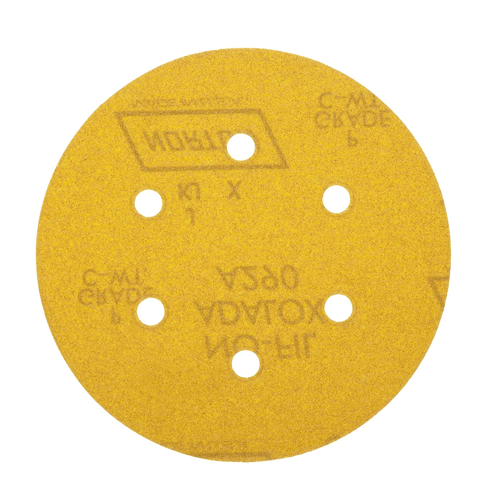 Norton Gold 290 Hook & Loop Discs 6 Inch