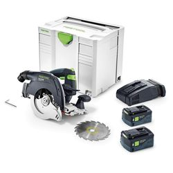 Festool 575677 HKC 55 EBQ BLUETOOTH AirStream Batteries Cordless Track Saw PLUS