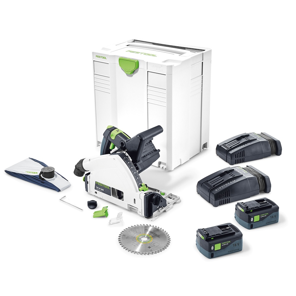 Festool TSC Cordless Track Saw with Bluetooth