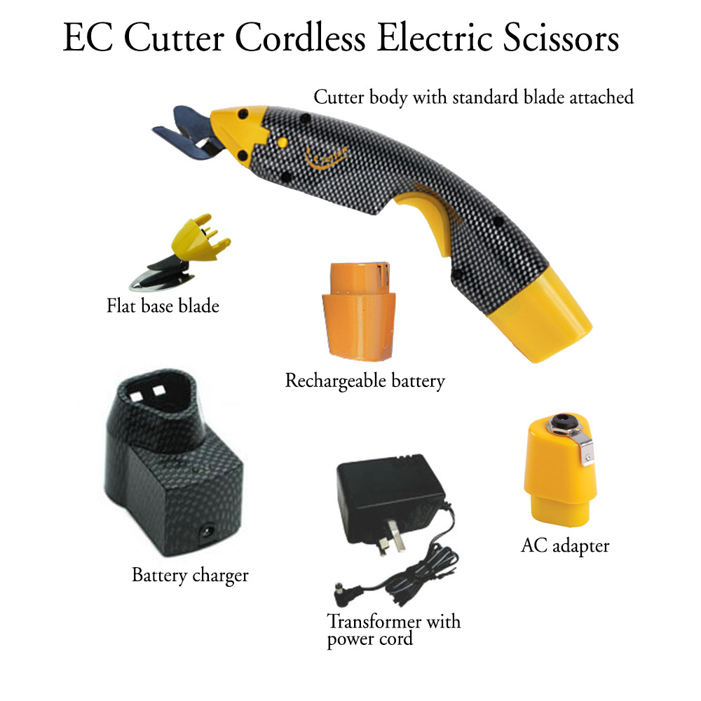 EC Cutter 110 Kit Contents