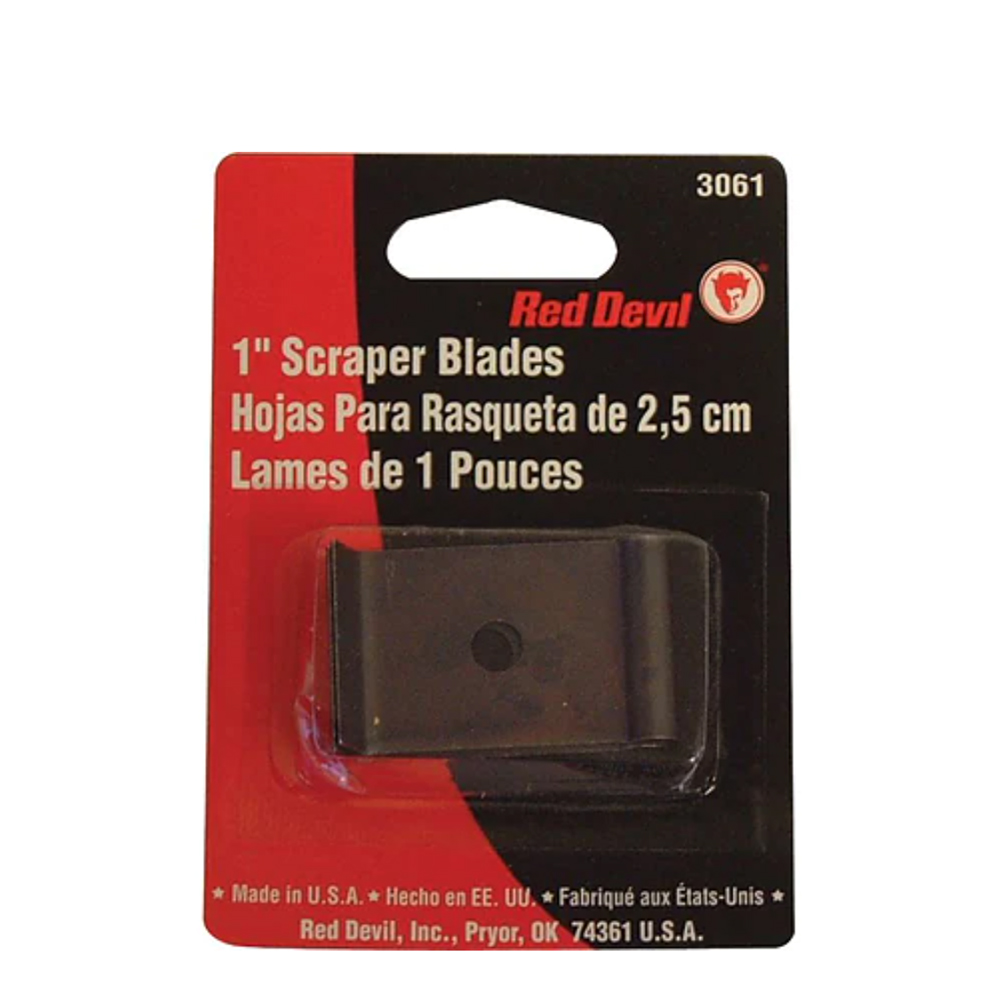 Red Devil Wood Scraper Replacement Blades