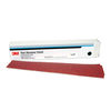3M Red Abrasive Hookit Sheets -- 2-3/4in x 16-1/2in