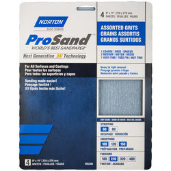 Norton ProSand 9 in x 11 in Sanding Sheet Packs